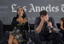 Scandal LA Times Panel Kerry Washington Scott Foley