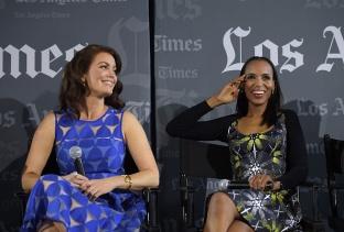 Scandal LA Times Panel Bellamy Young Kerry Washington
